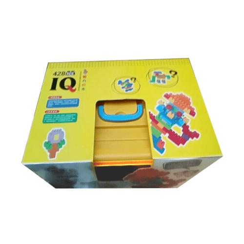 Sanook&Toys ชุดบล็อกตัวต่อเกล็ดหิมะ 1002 M สีเหลือง