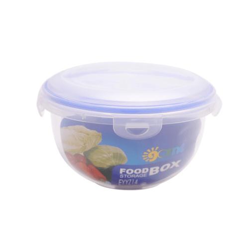 GOME ชุดกล่องถนอมอาหารพลาสติกทรงกลม  EYYZ14 330ML/780ML/1500ML 3 ชิ้น/แพ็ค สีน้ำเงิน