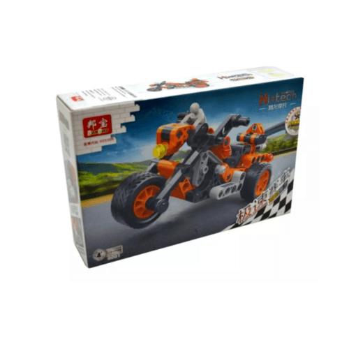 Sanook&Toys บล็อกตัวต่อชุดเล็ก 6961 สีส้ม