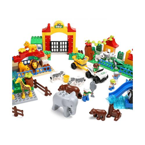 Sanook&Toys ของเล่นบล็อกตัวต่อชุดใหญ่ Rhino 9568