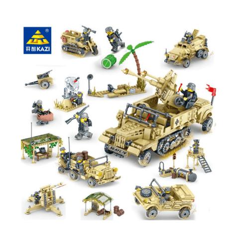 Sanook&Toys  ชุด Soul of World War II  82033 สีเหลือง