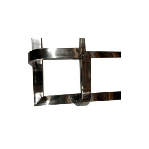 GUNNER ลูกกรงสแตนเลส - ต้นเสา A4 - สีโครเมี่ยม