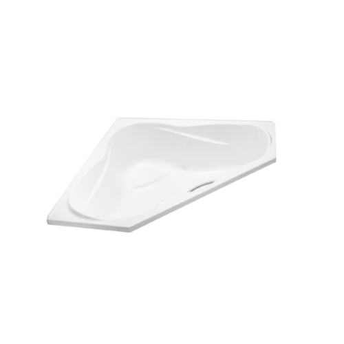 karat อ่างอาบน้ำธรรมดาแบบเข้ามุม แซฟไฟร์ คอนเนอร์ (พร้อมสะดืออ่างแบบป๊อปอัพ) K-18755X-WK สีขาว