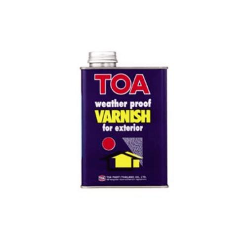 TOA น้ำมันวานิชเงา ภายนอก 1 กล  T9500
