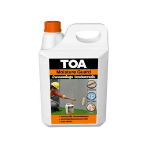 TOA น้ำยากันความชื้น 5 ลิตร F101726120MOIST ขาว