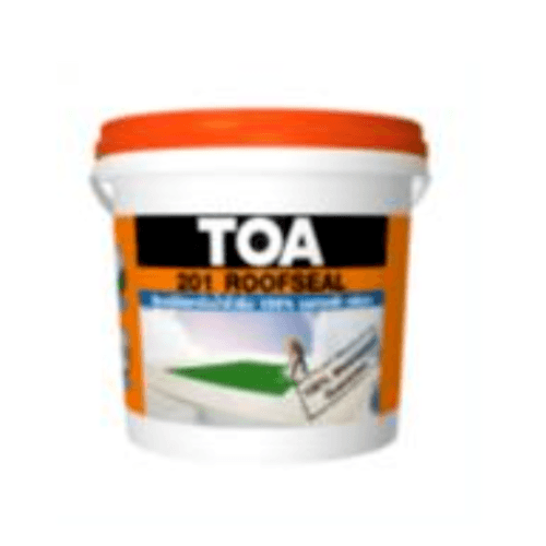 TOA  ทีโอเอ รูฟซีลซันบล็อค ทาหลังคากันรั่วซึม กันร้อน 5 ก.ล. F101256109RSBWH สีขาว