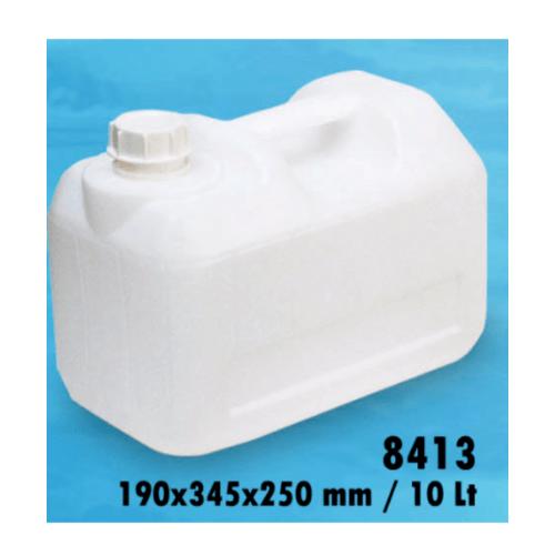 ตรามือ แกลลอนน้ำดื่ม แบบเหลี่ยม RW.8413 ใส