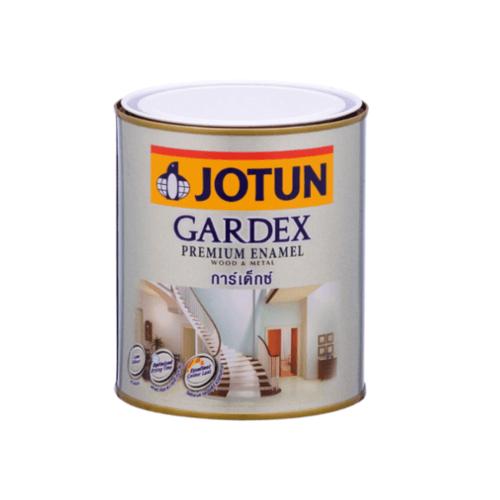 JOTUN สีน้ำมัน ชนิดเงา ขนาด1ลิตร GARDEX PREMIUM GL ขาว