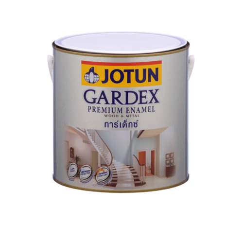 JOTUN สีน้ำมันชนิดเงา GARDEX PREMIUM GL  ขาว