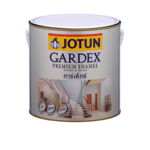 JOTUN สีน้ำมัน ชนิดเงา เบสเอ 3.6ลิตร GARDEX PREMIUM GL ขาว