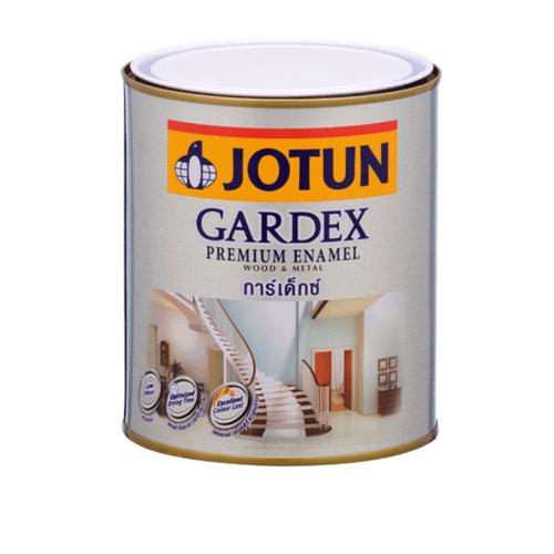 JOTUN สีน้ำมัน ชนิดเงา เบสบี ขนาด0.9ลิตร GARDEX PREMIUM GL ขาว