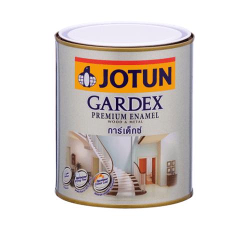 JOTUN สีน้ำมัน ชนิดเงา เบสซี ขนาด0.9ลิตร GARDEX PREMIUM GL ขาว