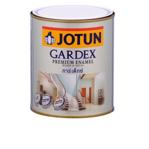 JOTUN สีน้ำมัน ชนิดเงา เบสบี ขนาด0.9ลิตร GARDEX PREMIUM SG ขาว