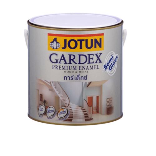 JOTUN สีน้ำมันชนิดกึ่งเงา เบสบี ขนาด3.6ลิตร GARDEX PREMIUM SG ขาว