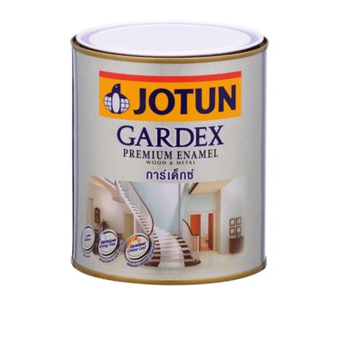 JOTUN สีน้ำมัน ชนิดเงา  เบสซี ขนาด0.9ลิตร GARDEX PREMIUM SG ขาว