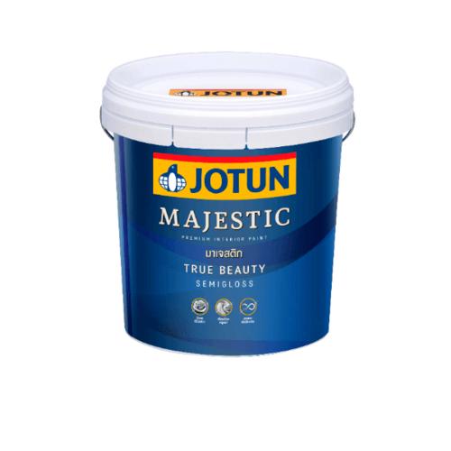 JOTUN สีน้ำอะครีลิค เบส บี 9 ลิตร Majestic True Beauty SG ขาว