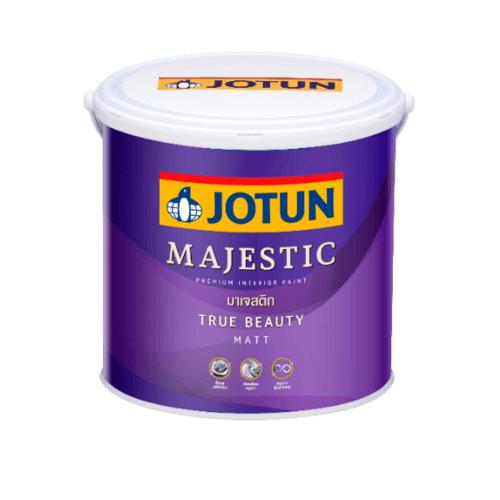 JOTUN สีน้ำอะครีลิค เบส เอ 3.6 ลิตร Majestic True Beauty Matt ขาว