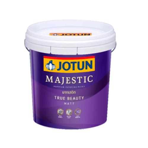 JOTUN สีน้ำอะครีลิค เบส เอ 9 ลิตร Majestic True Beauty Matt  ขาว