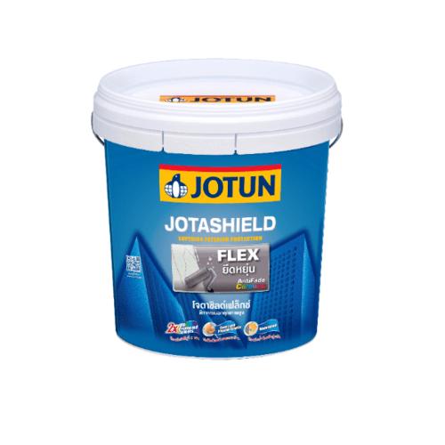 JOTUN สีน้ำภายนอก เบสเอ 9ลิตร  JOTASHIELD FLEX  ขาว