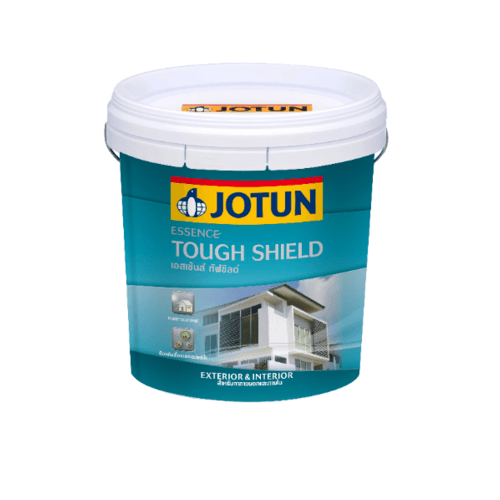 JOTUN สีน้ำภายนอก ด้าน เบสเอ (A) 9ลิตร Essence Tough Shield Matt  ขาว