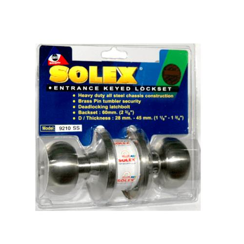SOLEX ลูกบิด (แผง) 9210 SS  สีขาว