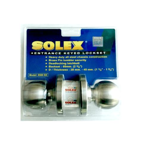 SOLEX ลูกบิด (แผง) 9500 SS  สีขาว