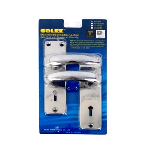 SOLEX มือจับสแตนเลส 425SS สีขาว