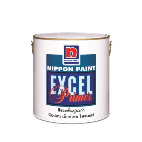 NIPPON สีรองพื้นปูน Excel Primer สีใส