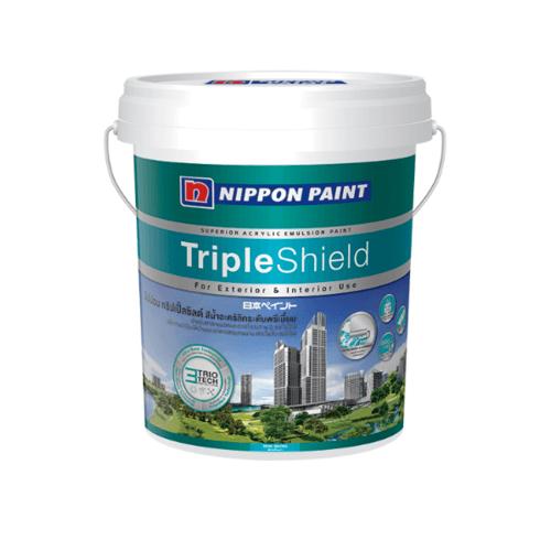 NIPPON สีน้ำอคลิลิค  เบส D   Triple Shield ขาว