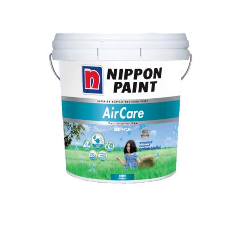 NIPPON สีน้ำอะคริลิค ภายใน เบส A ขนาด 1GL. Air Care ขาว