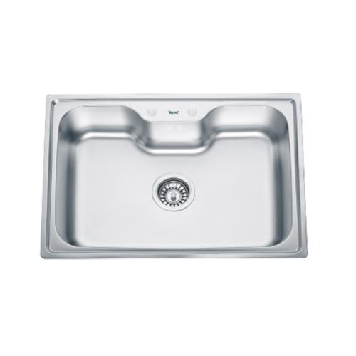 TECNOGAS อ่างล้างจาน 1หลุม  Sink TNP 10080 EPS สเตนเลส