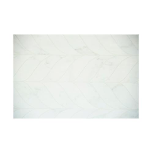 Cotto 8X12 ไรส์-ขาว (16P) A. - สีขาว