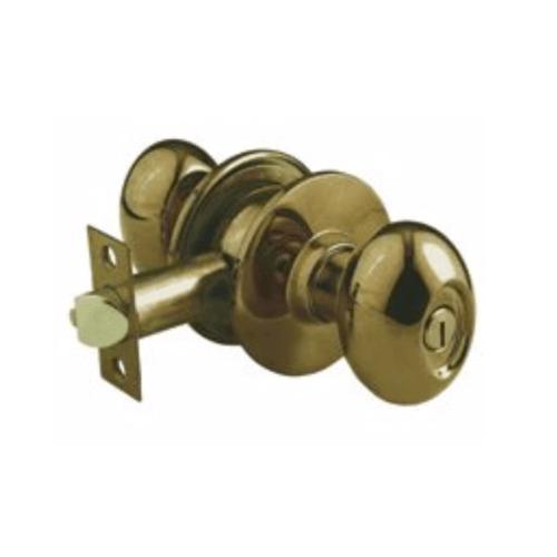 YALE ลูกบิดห้องน้ำ KN-VOV5222 US5 สีทองเหลืองรมดำ