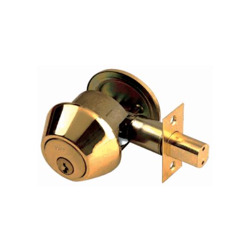 YALE กุญแจเสริมความปลอดภัย DB-V8111US5 ทองแดง