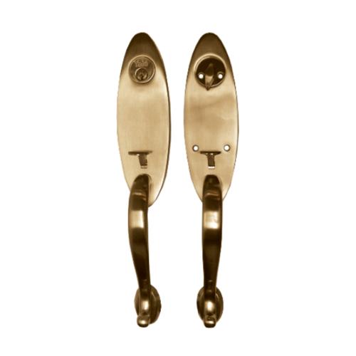 YALE กุญแจมือจับประตูทางเข้า HG6950AC ทองแดงรมดำ