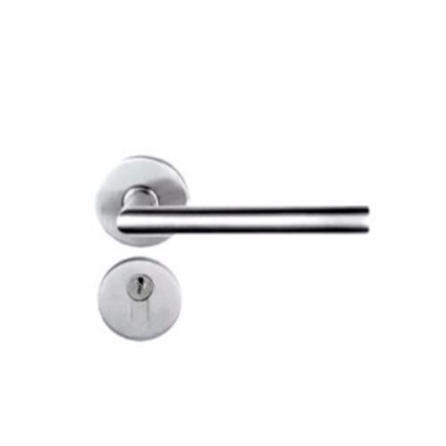 YALE ชุดกุญแจมือจับฝังในบานและอุปกรณ์ร่วม SN001SS_C สเตนเลส