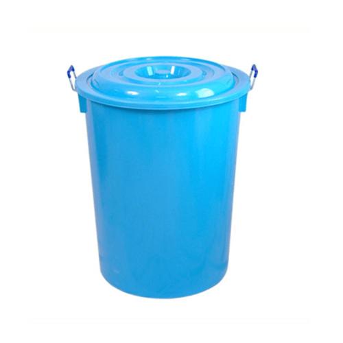 นำง่ายฮง ถังน้ำพร้อมฝา 55กล.  COPO  สีฟ้า
