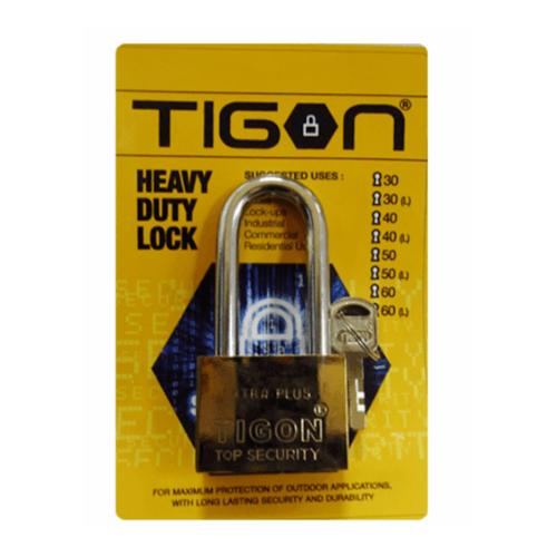 TIGON กุญแจชุบทองคอยาว ขนาด 50 มิล -
