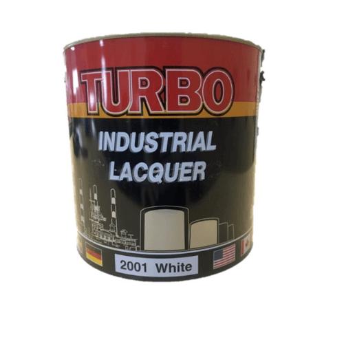 TURBO สีพ่นอุตสาหกรรม 1P411280001 Flat Black