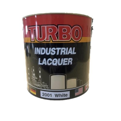 TURBO สีพ่นอุตสาหกรรม 1P4112800S1 Flat Black