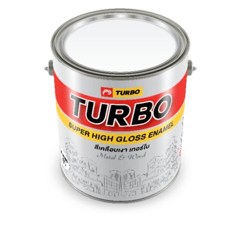 TURBO สีเคลือบเงา 1P535215901 Reddish Orange