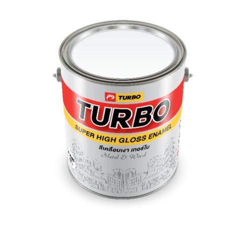 TURBO สีเคลือบเงา 1P5353252S1 Scarlet Medium