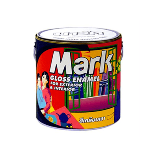 CAPTAIN สีน้ำมัน  MARK 860 กล. Cocoabrown