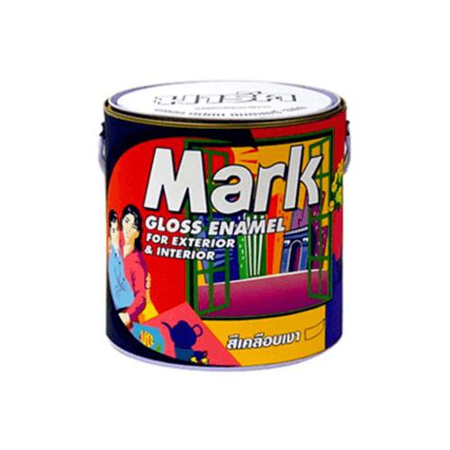 CAPTAIN สีน้ำมัน 1/4กล. MARK 860 สีแดง