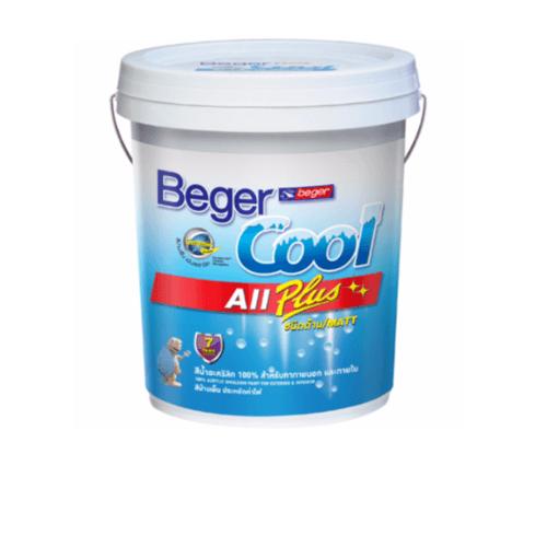 เบเยอร์ สีรองพื้นปูนใหม่กันด่าง Primer Beger Cool All Plus
