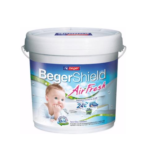 เบเยอร์ สีน้ำฟอกอากาศ ภายในกึ่งเงา  Beger Shield Air Fresh