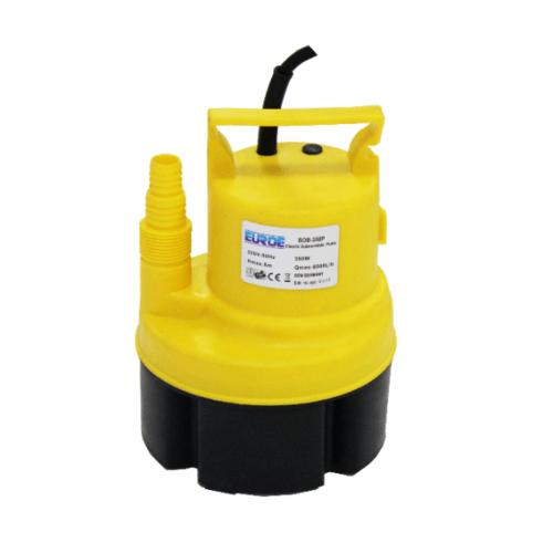 EUROE ปั๊มจุ่ม 350W. BOB-350P สีเหลือง