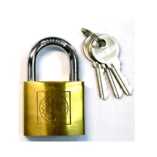 GOLDSEAL กุญแจ ขนาด 38 มม. - สีทองเหลือง