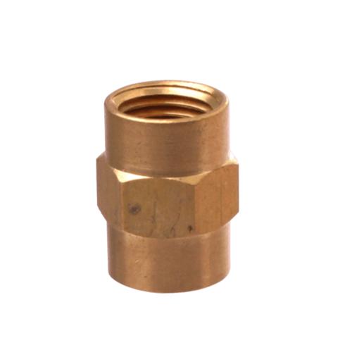 Super Products ข้อต่อเกจทองเหลืองเกลียวใน 1/4นิ้ว GC F