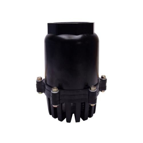 - ฟุตวาล์ว  NFV-S PVC 2 สีดำ